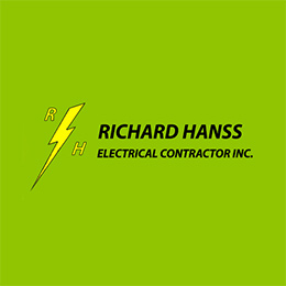 Richard Hanss Electrical Contractors, Inc. Website Image