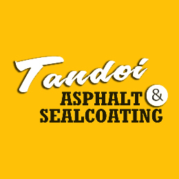 Tandoi Asphalt & Sealcoating Website Image