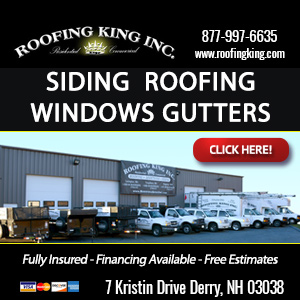 Roofing King Inc. Website Thumbnail