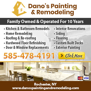 Dano's Painting & Remodeling Website Image