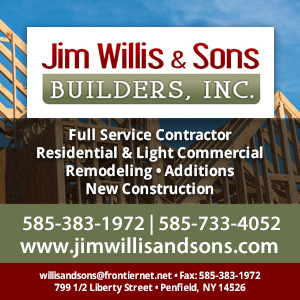 Jim Willis & Sons Builders, Inc. Website Image